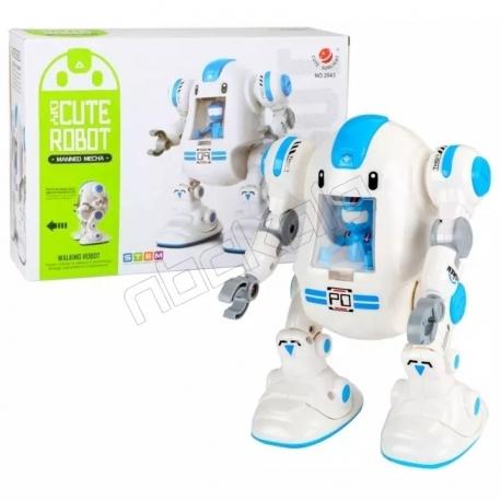 کیت ساختنی ربات بانمک STEM DIY Cute Robot Cute Sunlight 2043