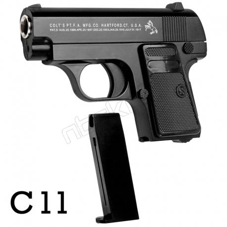 کلت فلزی ایر سافت گان ساچمه ای مدل AIRSOFT GUN C.11
