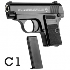 کلت فلزی ایر سافت گان ساچمه ای مدل AIRSOFT GUN C1