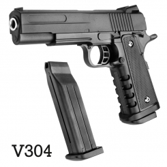 کلت فلزی ایر سافت گان ساچمه ای مدل AIRSOFT GUN V304