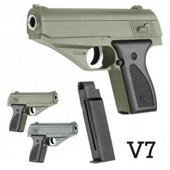 کلت فلزی ایر سافت گان ساچمه ای مدل AIRSOFT GUN V7