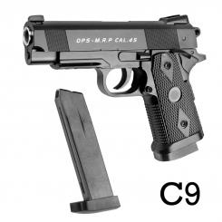 کلت فلزی ایر سافت گان ساچمه ای مدل AIRSOFT GUN C9