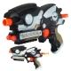 تفنگ پرتابی بتمن با نقاب باطری خور و فیگور لیزردار AVENGERZ 594-664