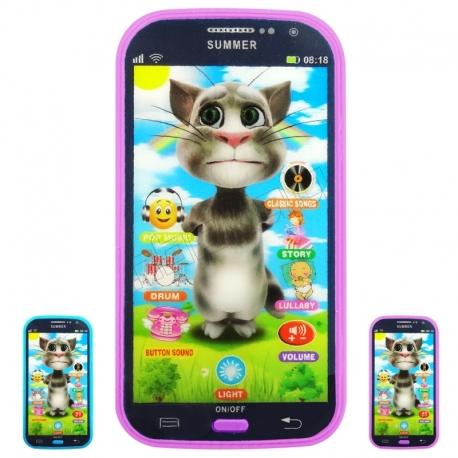 موبایل لمسی گربه تام سخنگو Talking TOM Mobile Toy NO.666