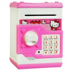 گاو صندوق الکترونیکی هلو کیتی HELLO KITTY MONEY SAVE NO: WF-3001HK