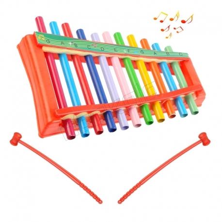 بلز اسباب بازی مدل زایلوفون لوله ای Musical Xylophone M-N-T 1411