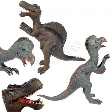 ست فیگور دایناسور اسپینوساروس و اویمیموس SPINOSAURUS AND AVIMIMUS NO234-11-12