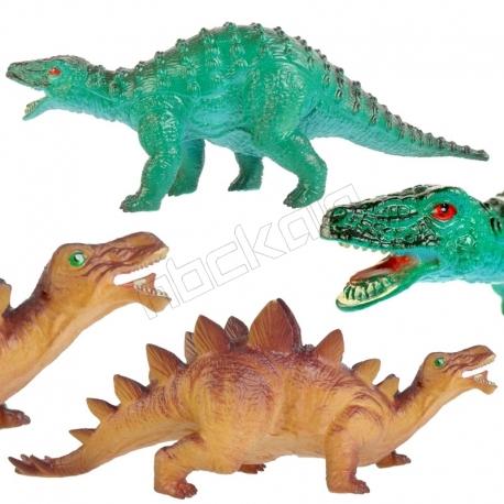 ست فیگور دایناسور نودوزاروس و استگوزاروس NODOSAURUS AND STEGOSAURUS NO234-13-14